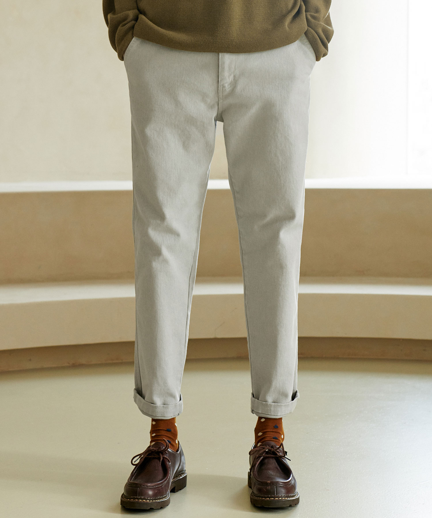 CP-769 LYCRA Tapered Pants_LG