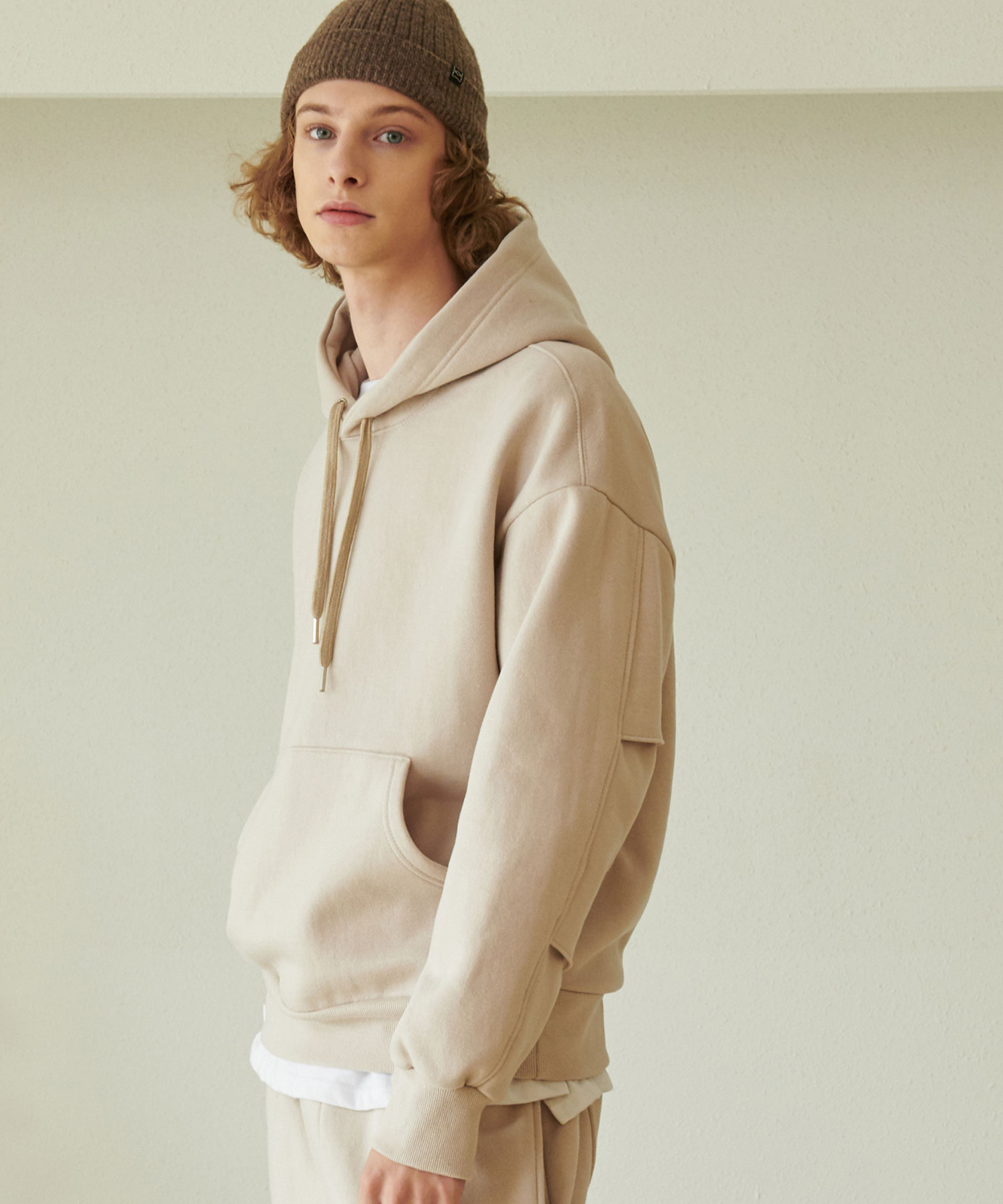 TA-131 BP-ELBOW HOODY_LB