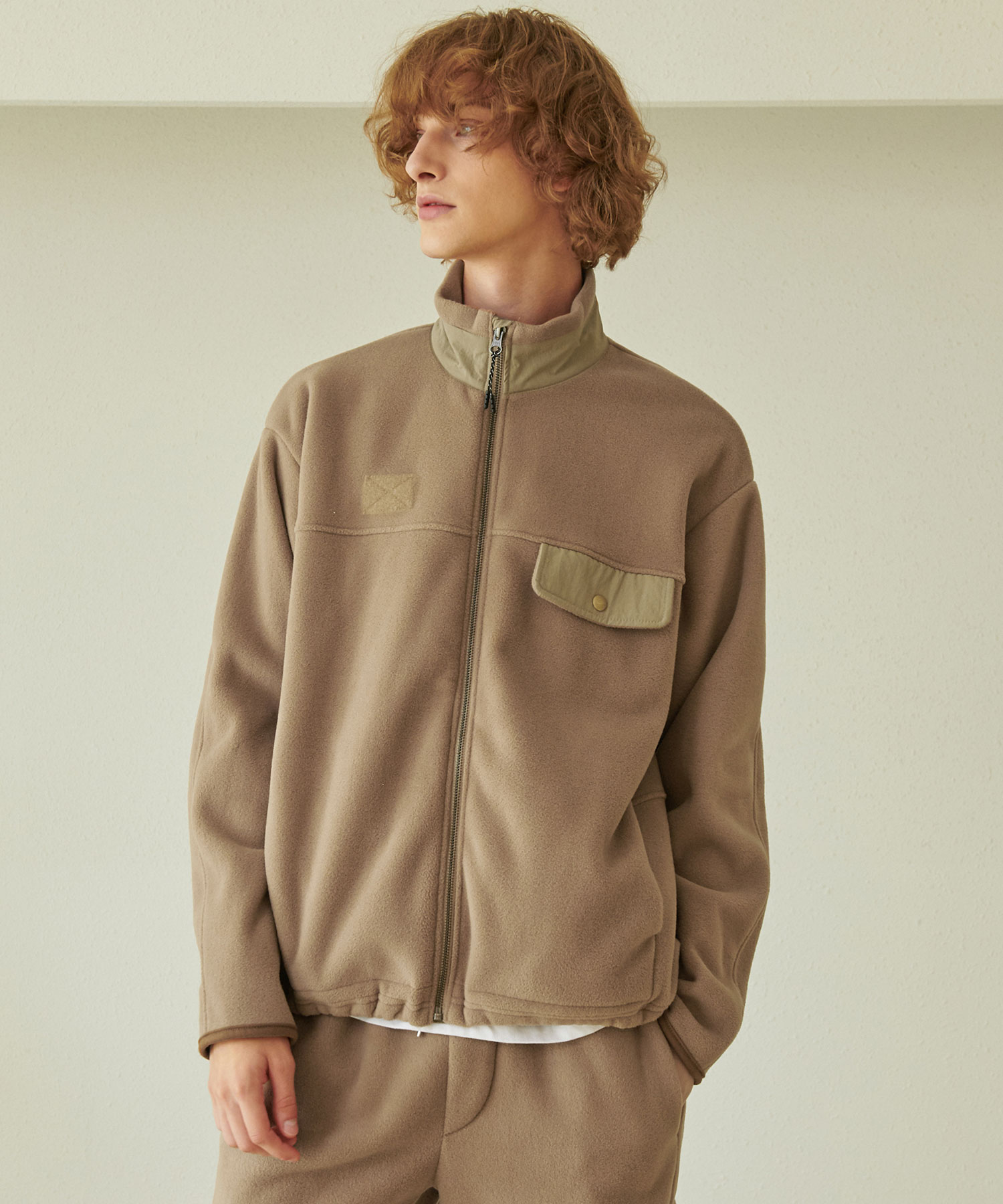 JK-208 P-3M ZIP UP_BG