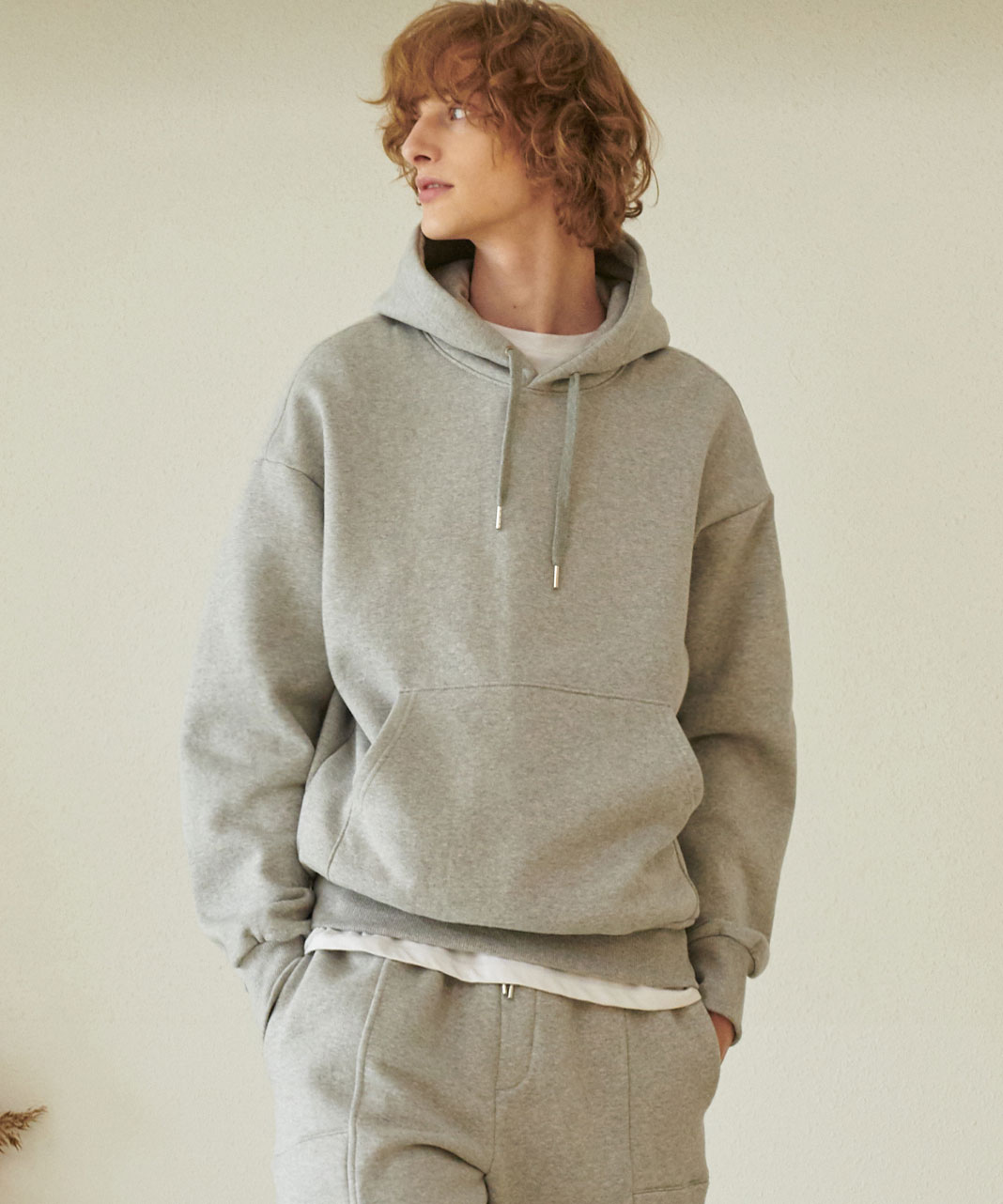 TA-131 BP-ELBOW HOODY_GY