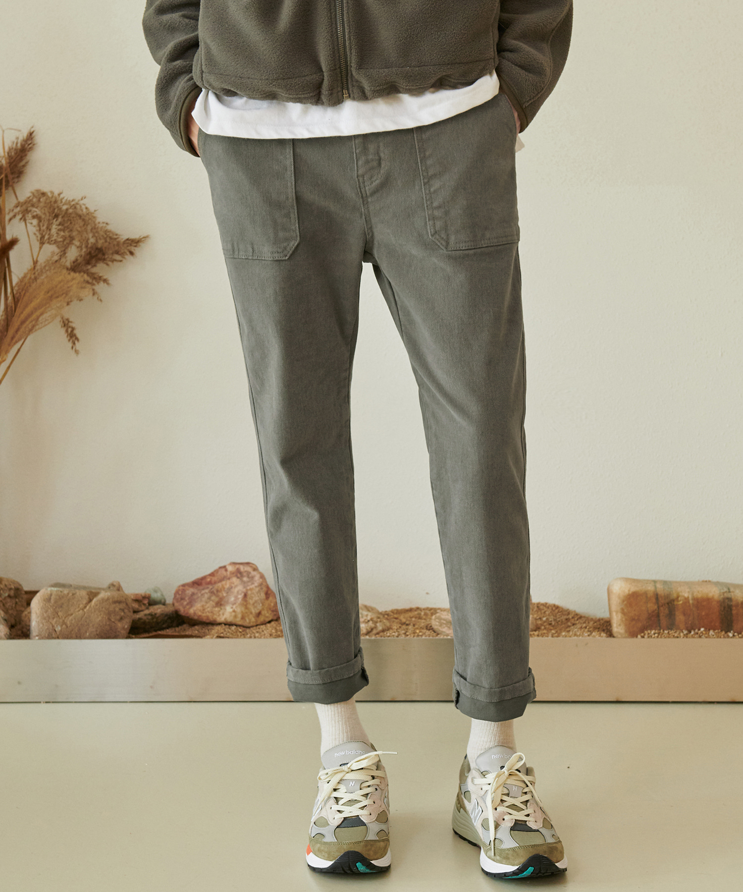 CP-768 LYCRA Fatigue Pants_KH