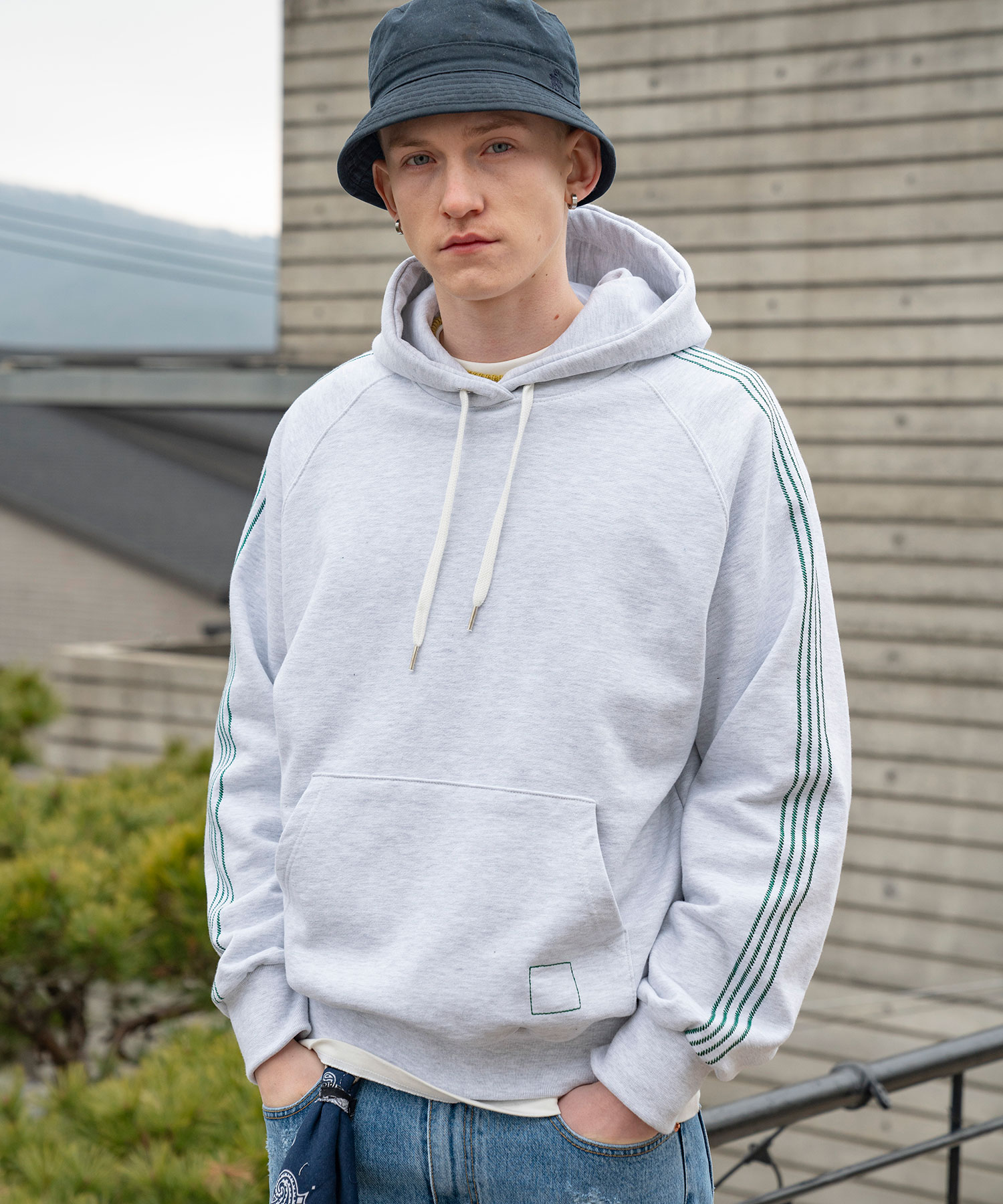 TA-136 4 Track Sweat Hoody_MW