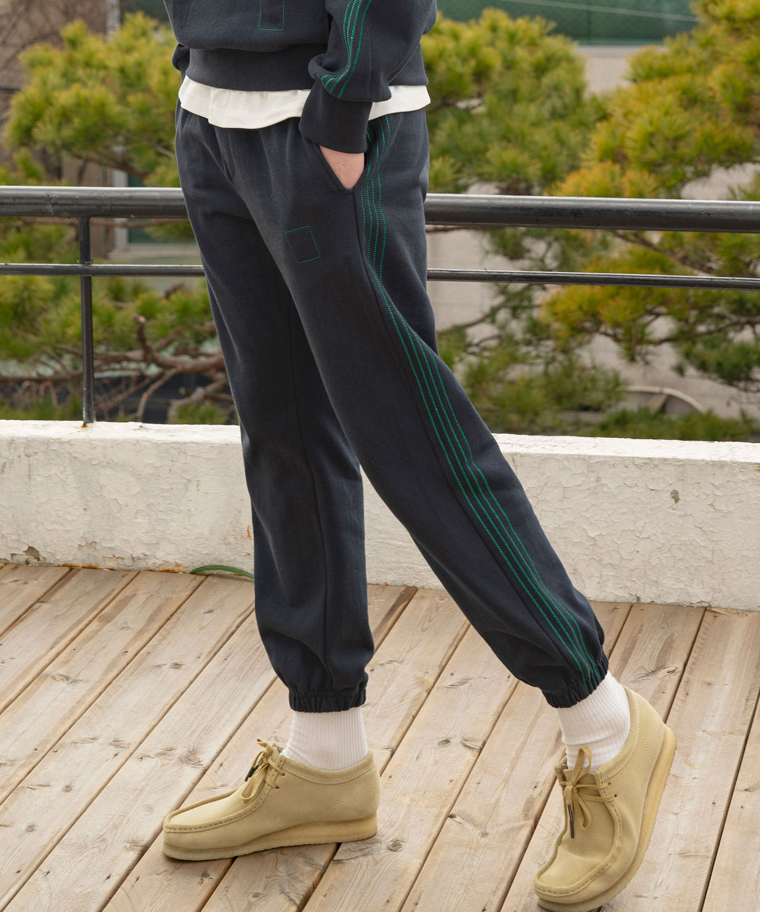 CP-136 4 Track Sweat Pants_NV