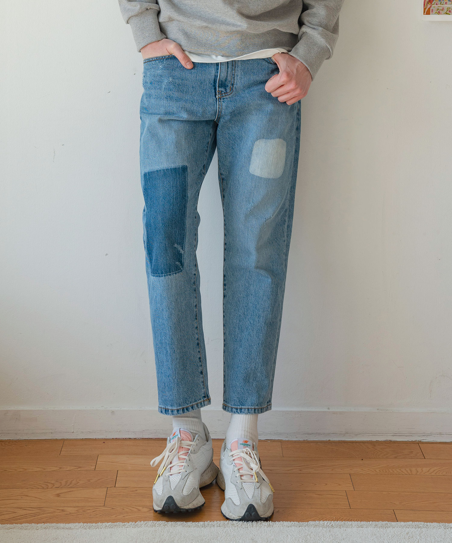 DP-960 Patch Washing Denim