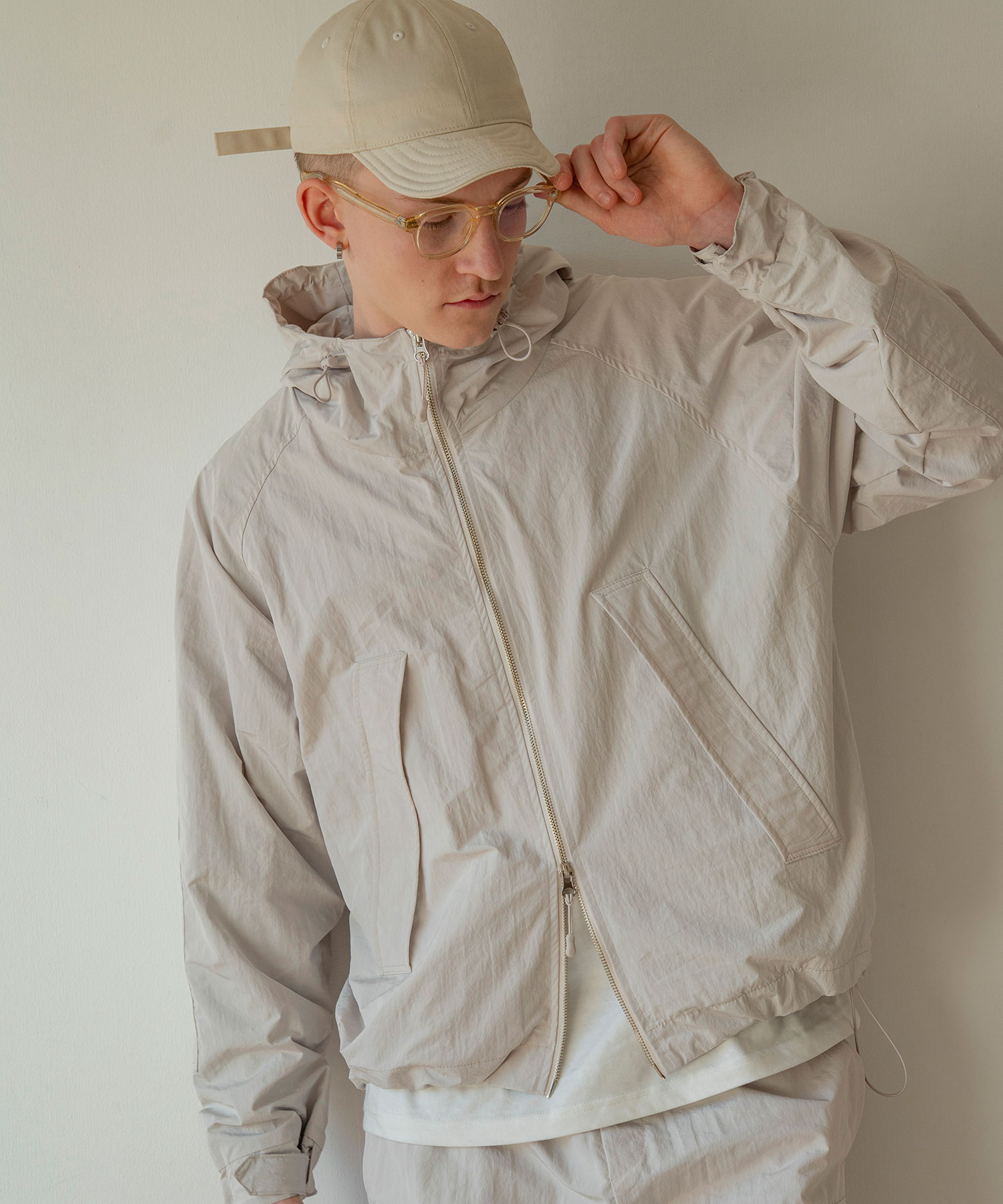 JK-57 City Utility Hood Jacket_LB
